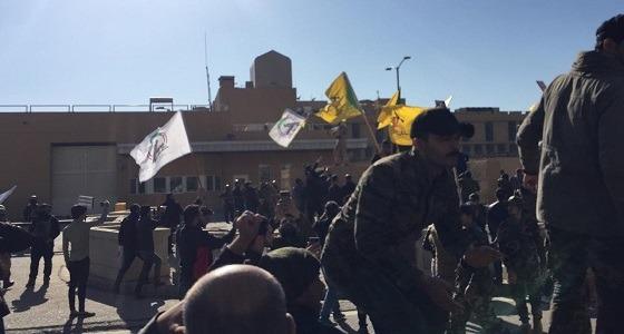 كتائب حزب الله العراقي تقتحم السفارة الأمريكية ببغداد