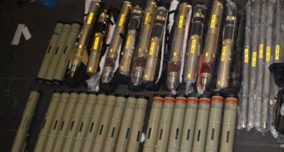 أمريكا تكشف عن صور لصواريخ إيران التي كانت في طريقها للحوثيين