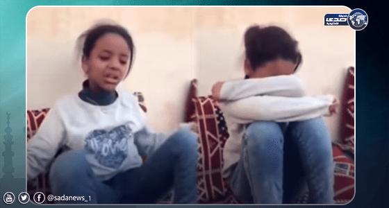 بالفيديو.. انهيار طفلة بسبب وعد يزيد الراجحي لها