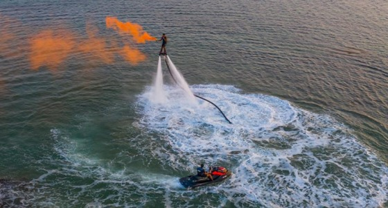 مشاهد مبهرة من فعاليات افتتاح واجهة عسير البحرية