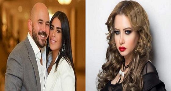 مي العيدان تهاجم محمود العسيلي بسبب صورته الجريئة مع زوجته