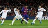 برشلونة يستعيد صدارة ترتيب الدوري الإسباني بهدف ميسي