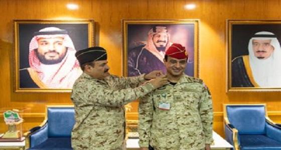 بالصور.. رئيس الجهاز العسكري يقلًد عدد من الضباط رتبة لواء بعد صدور الأمر الملكي