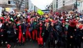 النساء يتظاهرن ضد ترامب