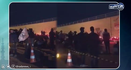 بالفيديو.. إيران تحول مكان مقتل سليماني في بغداد إلى «مزار ديني»