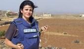 فيديو مروع للحظة إصابة مراسلة في انفجار بسوريا