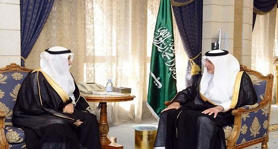 أمير مكة المكرمة يستقبل رئيس فرع النيابة العامة بالمنطقة