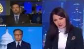 بالفيديو..مذيعة الجزيرة تستشيط غضبا من متصل شكك في صحة اختراق جوال «بيزوس»