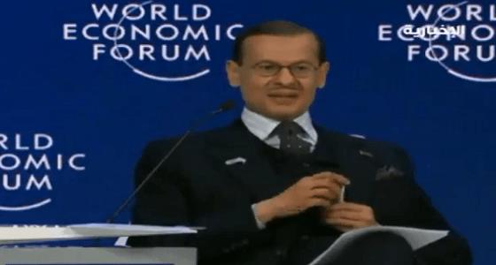 بالفيديو.. وزير الطاقة من دافوس: المملكة لاعب مؤثر في الساحة الدولية