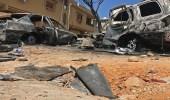 مقتل 28 مسلحا في قصف استهدف الكلية العسكرية بطرابلس الليبية