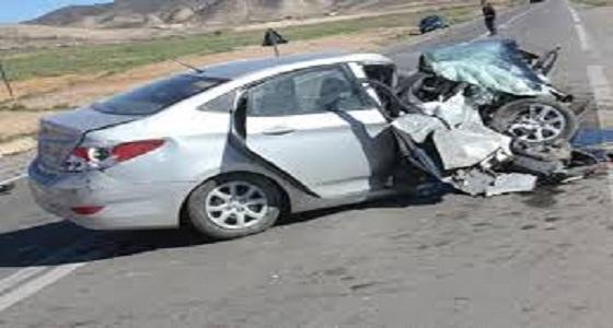 إصابة فتاة إثر حادث مروري على طريق الحرمين