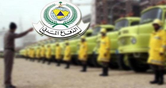 مدني جدة يسيطر على حادث برج الكورنيش ويشكر المواطنين والجهات على تعاونهم