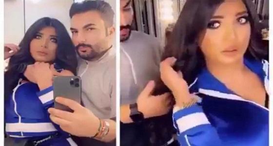 اعتقال الفاشنيستا سارة الكندري بعد مقطعها الخادش مع زوجها