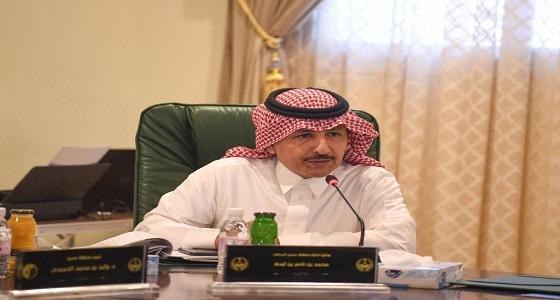 أمير منطقة عسير يترأس اجتماع مجلس المنطقة بمحافظة البرك