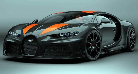 «بوجاتي شيرون» أسرع سيارة في العالم