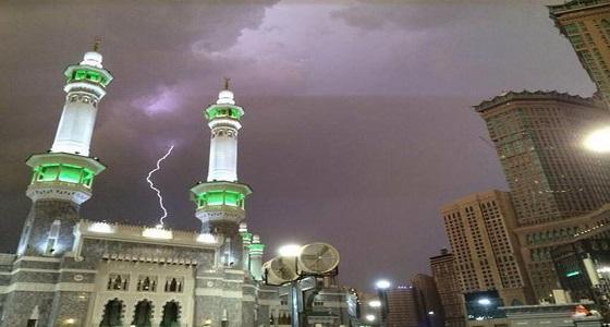 «الأرصاد» تنبه بهطول أمطار رعدية على عدد من محافظات منطقة مكة المكرمة