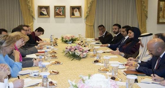 وزير الخارجية يلتقي مفكرين وباحثين من مراكز ومعاهد أمريكية