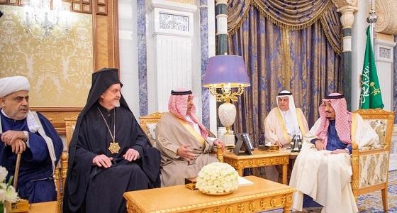 خادم الحرمين يستقبل الأمين العام لمركز الملك عبدالله العالمي للحوار