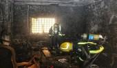إخلاء 9 أشخاص بحريق شقة في مكة