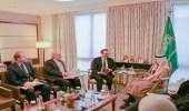 تفاصيل لقاء الأمير فيصل بن فرحان بمساعد وزير الخارجية الأمريكي