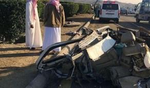 إصابة عدة أشخاص في حادث مروري في الطائف