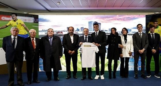 ريال مدريد يقدم نجمه الجديد من القادم من «فلامينجو» (فيديو)