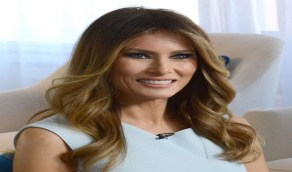 زوجة ترامب تعيد تجسيد أشهر قبلة في التاريخ