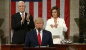 بالفيديو..«بيلوسي» تمزّق خطاب ترامب فور انتهاء كلمته