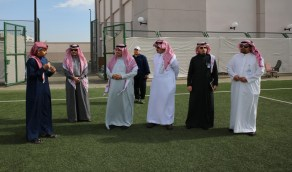 1500 طالبة في برنامج الأيام الرياضية بتعليم عسير