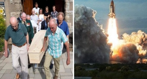 تحطم صاروخ بـ «مجنون» حاول إثبات أن الأرض ليست كروية