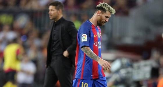 مدرب أتليتكو مدريد بعد إشادة «ميسي»: لا أريد الإحتفال لأن المديح جاء منك !