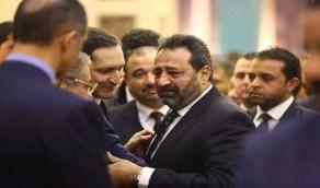 بالصور.. «مجدي عبد الغني» في فرح نجلة مدحت شلبي بعد بكائه بحرقه في عزاء «مبارك»