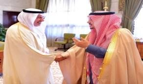 سمو أمير منطقة الرياض يستقبل المشرف العام على مركز الملك سلمان للإغاثة والأعمال الإنسانية