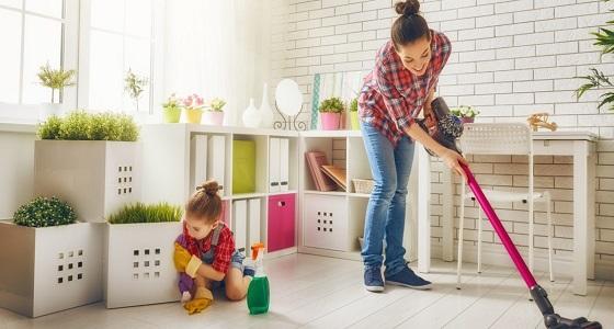 تحذير: مواد التنظيف المنزلية تسبب الربو للأطفال !