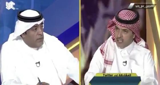 بالفيديو.. ابن زنان يستفز وليد الفراج بمقطع لـ «مقابلة» سابقة