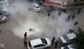 بالفيديو..غلاء المعيشة يدفع رجل تركي لإضرام النيران في نفس