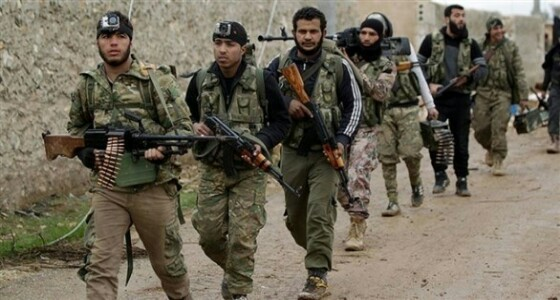 تركيا تسلمأسلحة ومعدات عسكرية للإرهابيين في إدلب