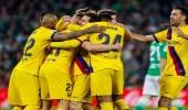 برشلونة يحتل وصافة الليجا بفوزه على ريال بيتيس
