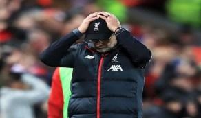 """"""" كورونا """" يهدد حلم ليفربول في التتويج بالدوري الإنجليزي"""