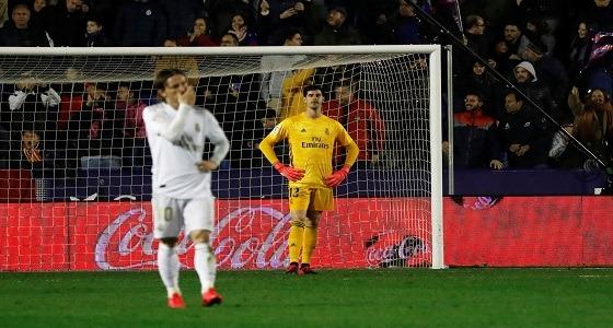 ليفانتي يعرقل الريال عن صدارة ترتيب الدوري الإسباني