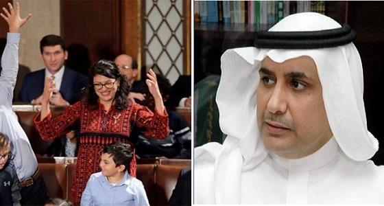 أحمد فراج يشن هجوم على نائبة بالكونجرس من أصل فلسطيني بسبب ملابسها
