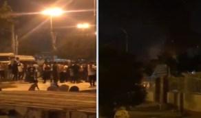 بالفيديو..إحراق مركز للحجر الصحي بإيران