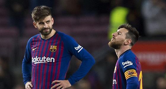 تعاقد مع شركة يعكر صفو لاعبي برشلونة