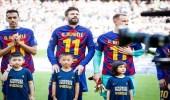 لفتة إنسانية من لاعبي برشلونة تضامنًا مع الصينين في حربهم ضد «كورونا»