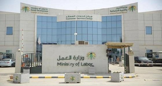 وزارة العمل تطلق خدمة إدارة مواقع المنشأة إلكترونيا