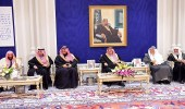 سمو أمير منطقة الرياض يستقبل أصحاب الفضيلة والمعالي وأهالي مدينة الرياض