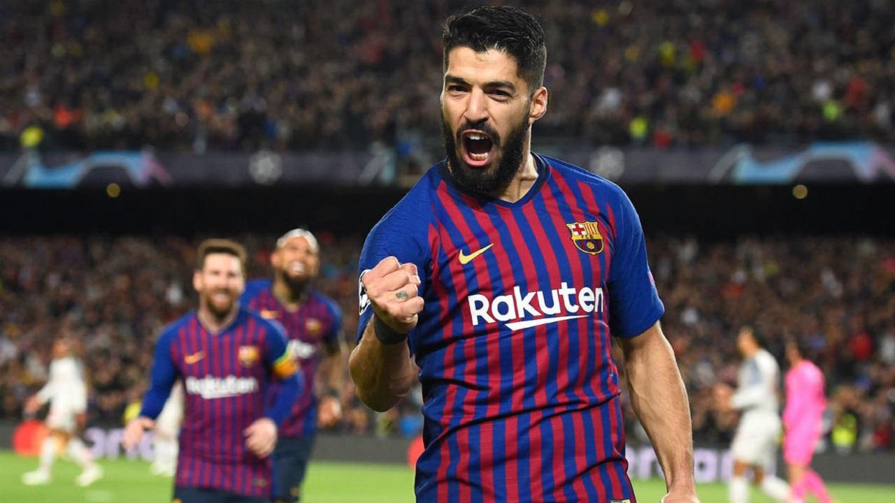 سواريز يحدد شرطا لتمديد تعاقده مع برشلونة