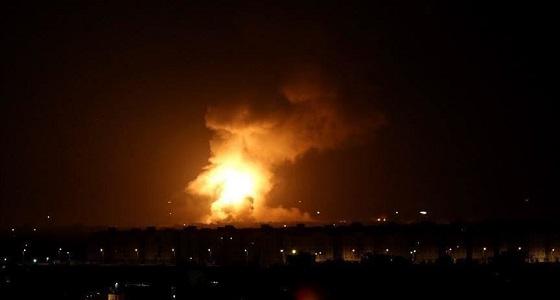 سقوط صواريخ قرب السفارة الأمريكية في بغداد