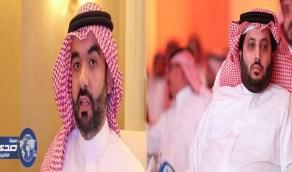 تركي آل الشيخ يشكر وزير الاتصالات على سرعة وقوة شبكة الإنترنت