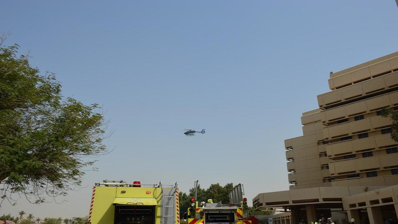 مدني جدة ينفذ فرضية إطفاء وإخلاء بمستشفى الملك عبدالعزيز الجامعي